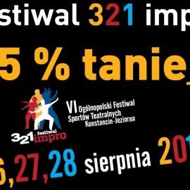 Z kawiarni na 321 Impro 15 % taniej!!!